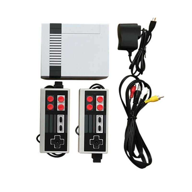 Máy Chơi Game NES 620 Trò Chơi Kèm 2 Tay Game Và Dây AV Lên Tivi
