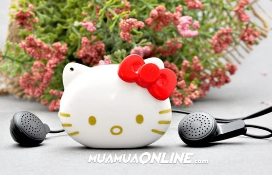 Máy Nghe Nhạc Mp3 Hello Kitty Thời Trang