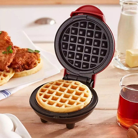 Máy Nướng Làm Bánh Tổ Ong Waffle 350w