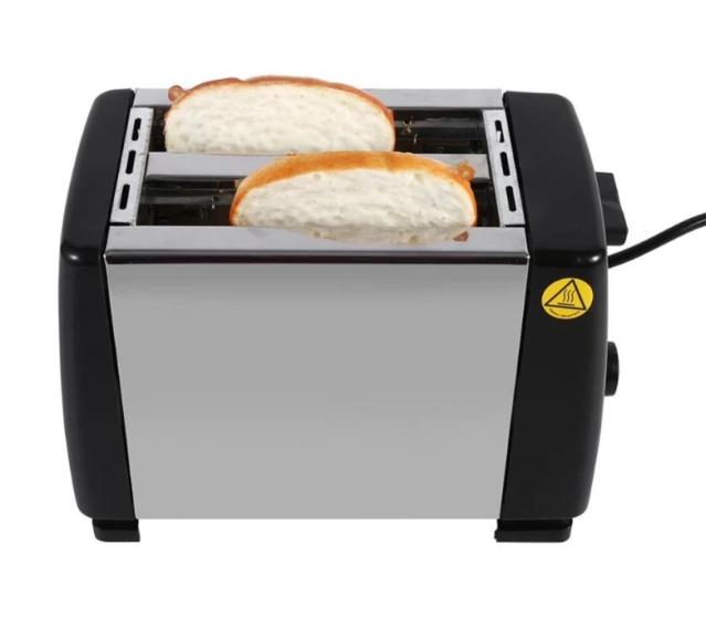 Máy Nướng Bánh Mì, Sanwich 2 Ngăn Sokany HJT-016S