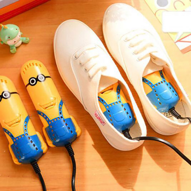 Máy Sấy Giày Hình Minion 10W Tiện Lợi