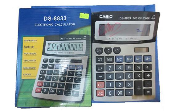 Máy Tính Casio Ds-8833