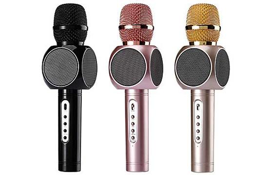 Micro Karaoke Kèm Loa Bluetooth E103 3 Trong 1