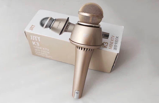 Micro Karaoke Kèm Loa Bluetooth K3 3 Trong 1