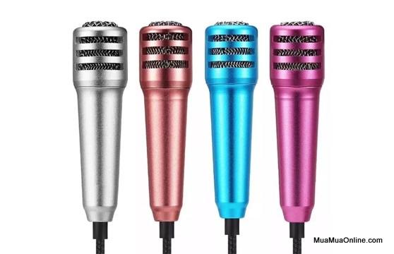Micro Karaoke Mini Dành Cho Điện Thoại Và Máy Tính Bảng Mẫu Mới