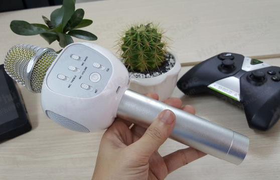 Micro Karaoke Kèm Loa Bluetooth Yhsj-007 3 Trong 1