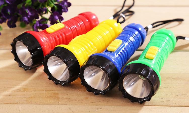 Đèn Pin Mini Có Móc Khóa Nhiều Màu