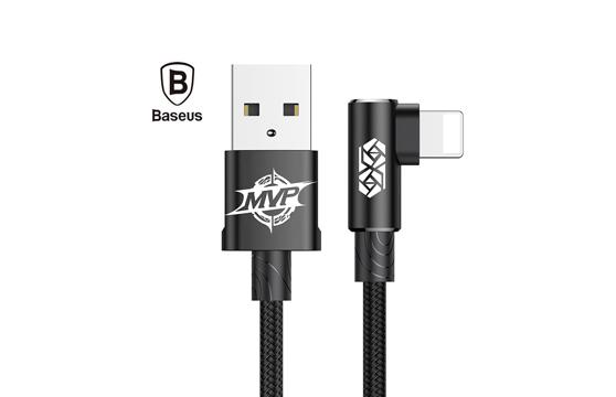 Cáp Sạc Baseus Mvp Góc L Cổng Lightning Cho Iphone