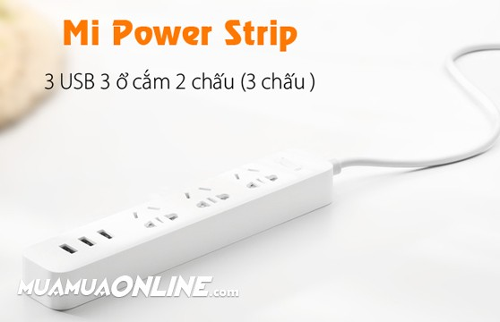 Ổ Điện Xiaomi Mi Power Strip Chính Hãng Cao Cấp