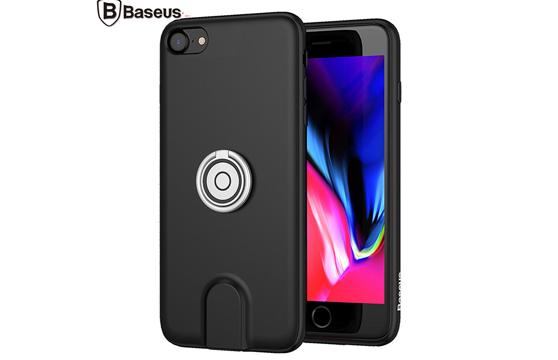 Ốp Sạc Không Dây Baseus Tích Hợp Ring Holder Cho Iphone 7 Plus / 8 Plus