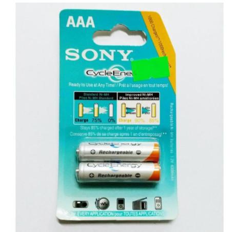 Vỉ 2 Viên Pin Sạc Sony AAA 1.2V 4300mah