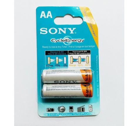 Vỉ 2 Viên Pin Sạc Sony AA 1.2V 4600mah