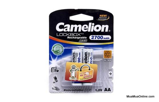 Vỉ 2 Pin Sạc Camelion 1.2V 2700Mah