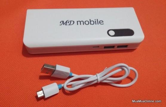 Pin Sạc Dự Phòng Md-Mobile 10000Mah Chính Hãng