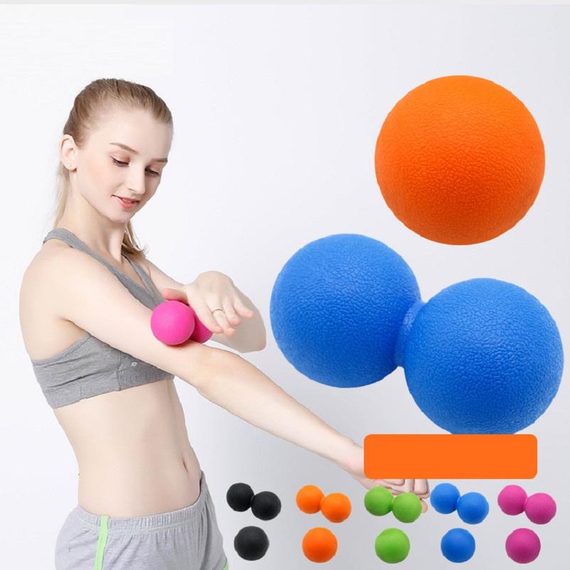 Quả Bóng Massage Con Lăn Giúp Thư Giãn Tập Luyện Thể Thao Gym, Yoga
