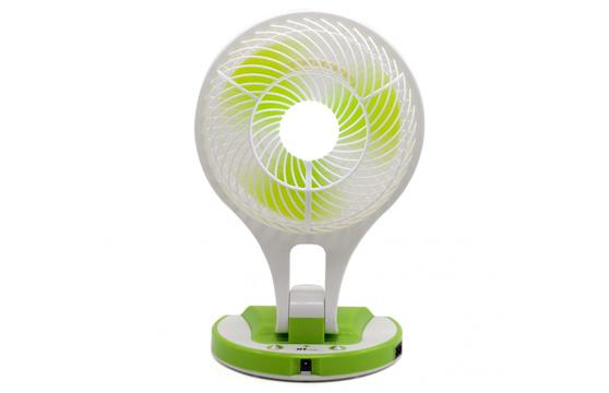 Quạt Sạc Điện Kiêm Đèn Pin Mini Fan 5580