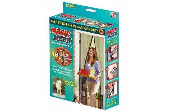 Rèm Cửa Chống Muỗi Magic Mesh
