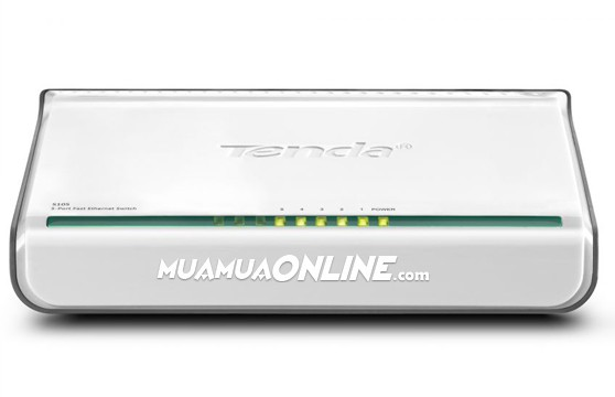Switch Tenda 5 Port Fast Ethernet 100Mbps Chính Hãng
