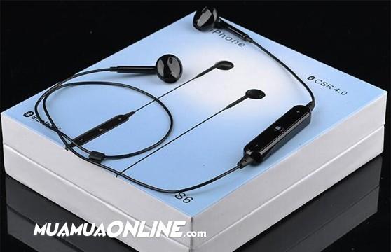 Tai Nghe Bluetooth S6 Thời Trang