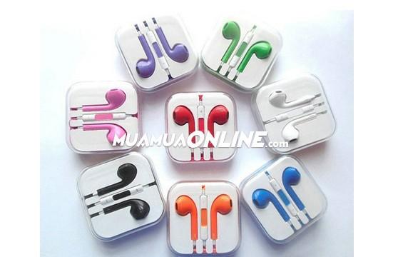 Tai Nghe Iphone Colors Nhiều Màu Sắc (5,5S,6,6Plus)