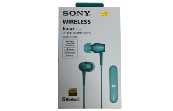 Tai Nghe Bluetooth Sony Wireless Mdr Ex750Bt