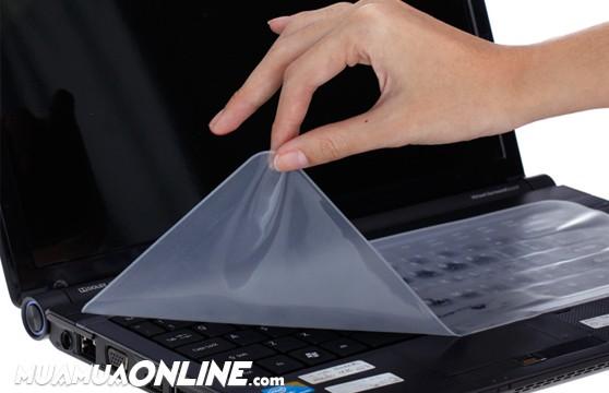 Tấm Phủ Bàn Phím Laptop 14, 15 Inch (Bộ 2 Miếng)