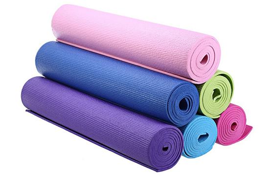 Thảm Tập Yoga 2 Lớp PVC 173x61x0,5 Cm Hàng Cao Cấp