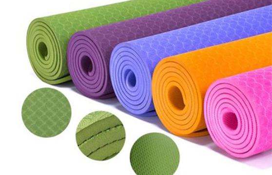Thảm Tập Yoga PVC 173x61x0,3 Cm Cao Cấp