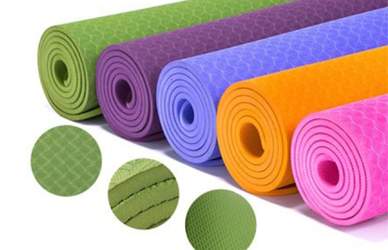 Thảm Tập Yoga PVC 173x61x0,3 Cm