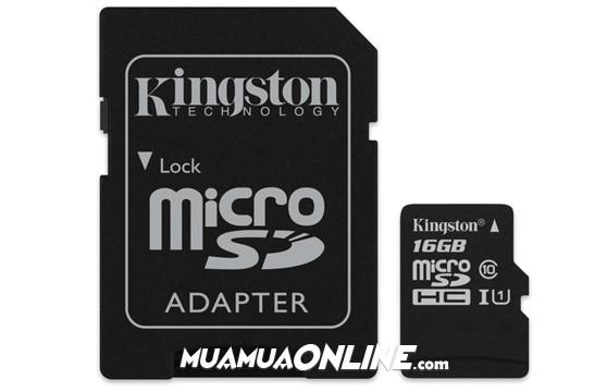 Thẻ Nhớ Micro Sdhc Kingston 16Gb Class 4 Chính Hãng