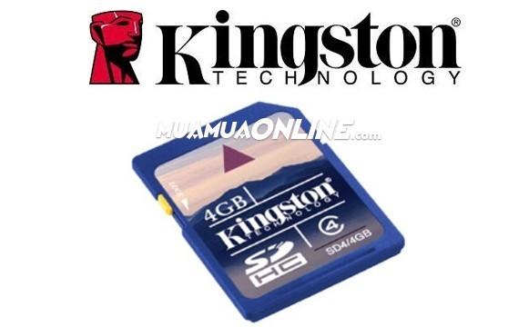 Thẻ Nhớ Sdhc Kingston 4G Class 4 Chính Hãng