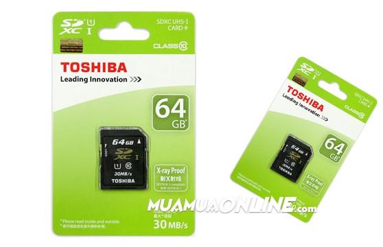 Thẻ Nhớ Micro Sdhc Toshiba 64Gb Class 10 Chính Hãng