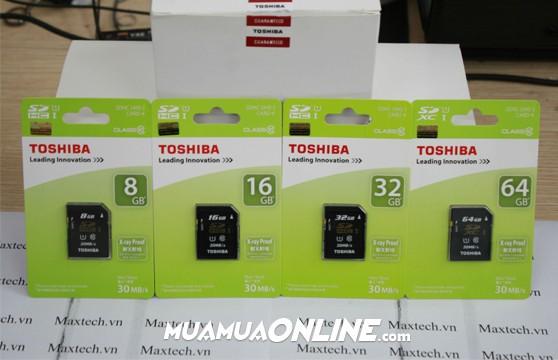 Thẻ Nhớ Sdhc Toshiba 8Gb Class 10 Chính Hãng