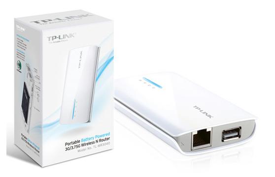 Thiết Bị Phát Sóng Wifi Tp-Link Mr3040 3G/4G Tích Hợp Phát Wifi Từ Usb 3G