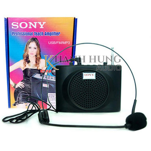 Loa Trợ Giảng Sony Sn-898 15W Full Phụ Kiện