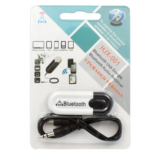 Bộ Chuyển Đổi  Loa Thường Thành Loa Bluetooth 5.0 Hjx-001 Cao Cấp