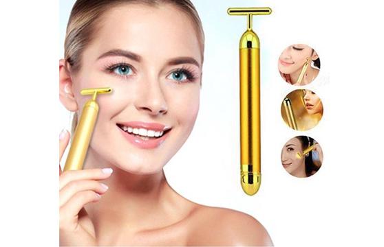 Máy Massage Mặt Energy Beauty Bar Cao Cấp (Vàng)
