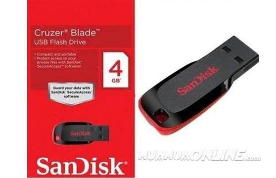 Usb Sandisk 4Gb Chính Hãng