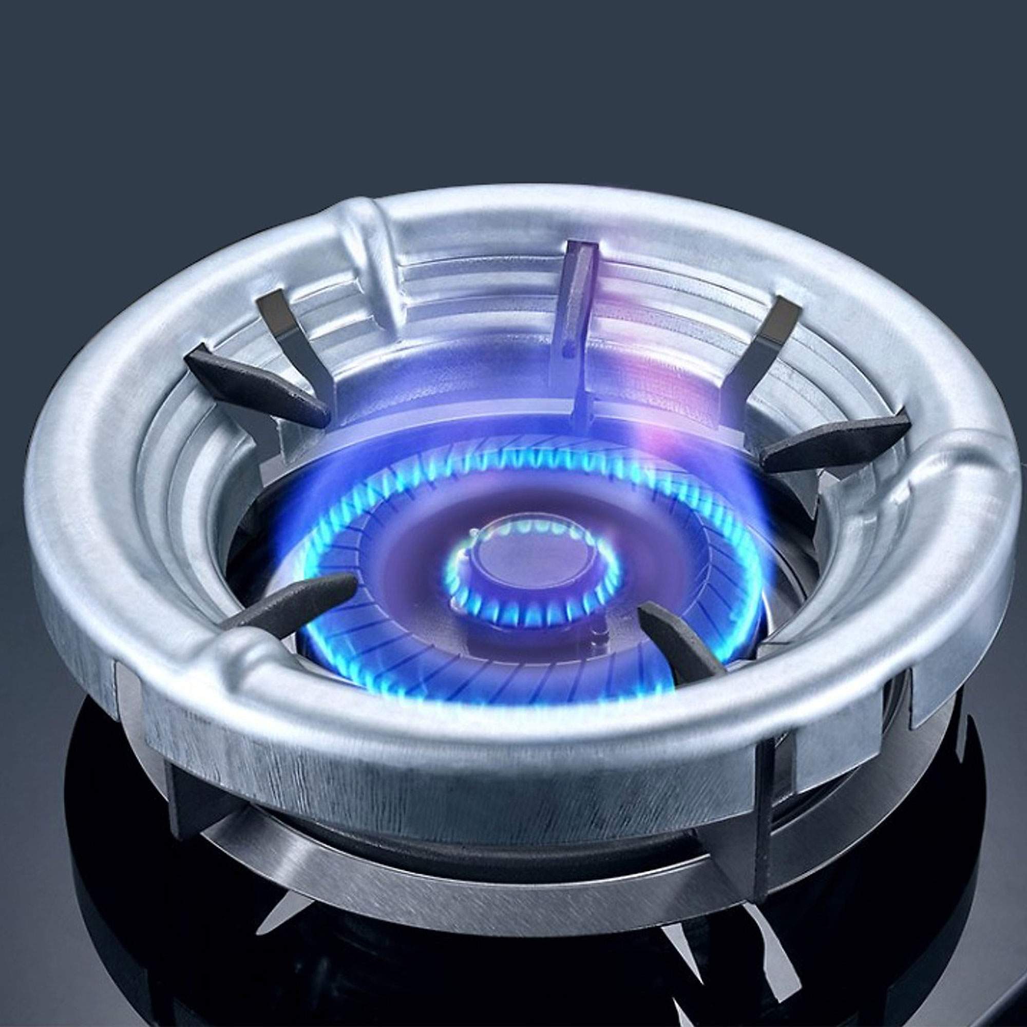 Vỉ Chắn Gió Bếp Gas Bằng Thép Hợp Kim Giúp Tiết Kiệm Gas
