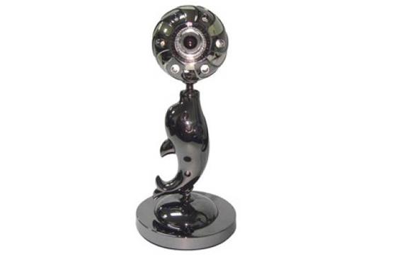 Webcam 1 Chân Hình Cá Heo Pc03M Có Micro