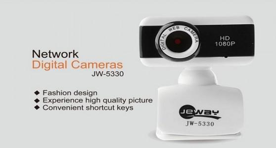 Webcam Jeway Jw-5330 Full Hd Chính Hãng