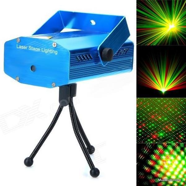 Đèn Chiếu Sao Trang Trí Laser Cảm Biến Nhạc Cao Cấp