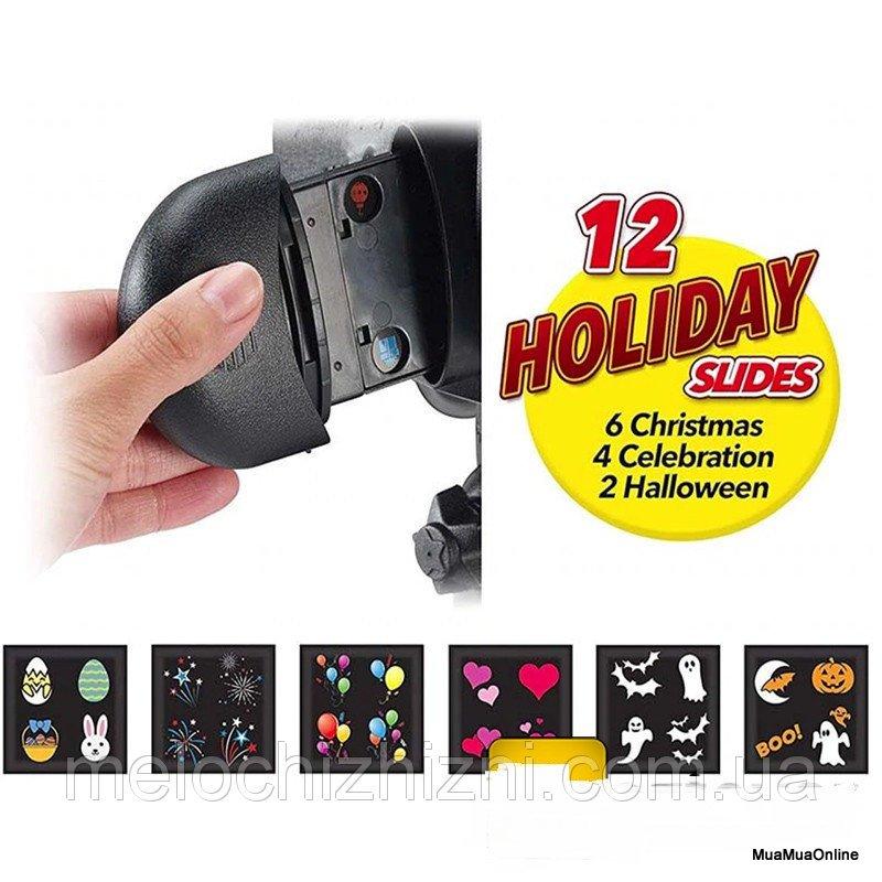 Đèn Chiếu Slide Show 12 Thẻ 5 Chủ Đề Cao Cấp