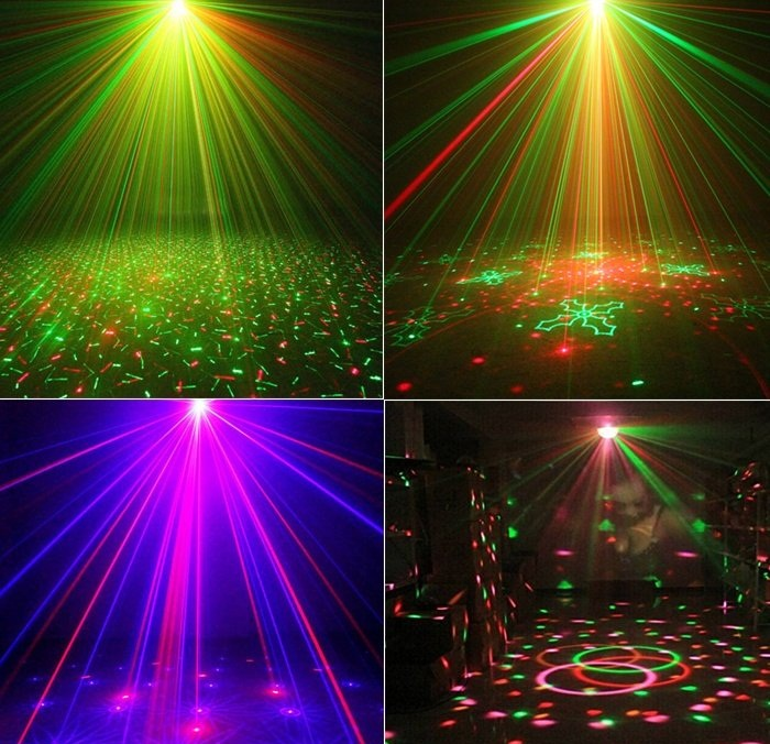 Đèn Led  Xoay 7 Màu Hình Trụ Cảm Ứng Theo Nhạc Vũ Trường, Karaoke, Sân Khấu, QuÁn Bar