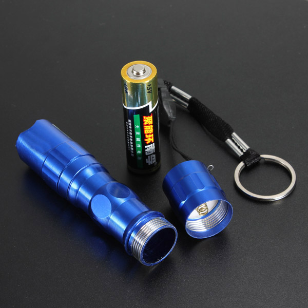 Đèn Pin Bỏ Túi Mini Kèm Móc Khoá 3W Siêu Sáng
