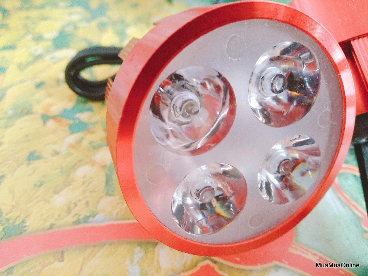 Bộ 2 Đèn Trợ Sáng Cho Mô Tô, Xe Máy KD 04 Cao Cấp