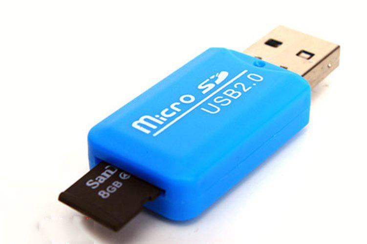 Đầu Đọc Thẻ Nhớ Micro Sd Nhựa Cao Cấp