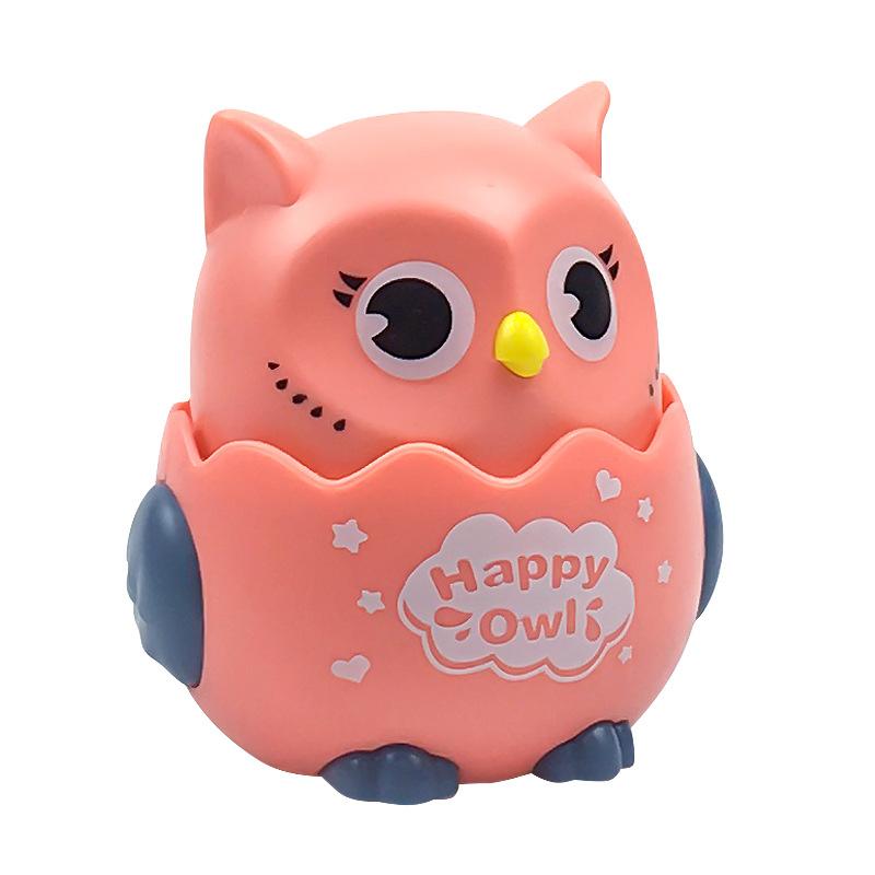 Đồ Chơi Chim Cú Chạy Xoay 360 Độ Happy Owl Cho Bé
