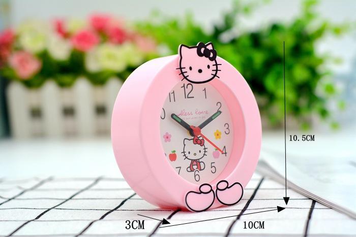 Đồng Hồ Để Bàn Hình Mèo Kitty
