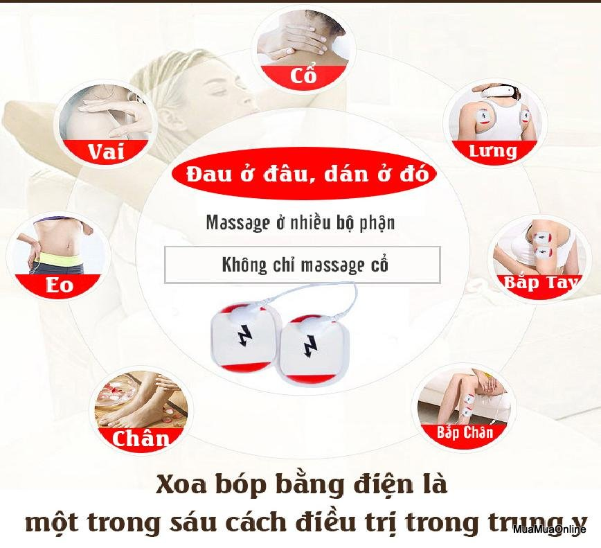 Đai Masage Cổ Chữ C 3D Kl- 5830 Cao Cấp